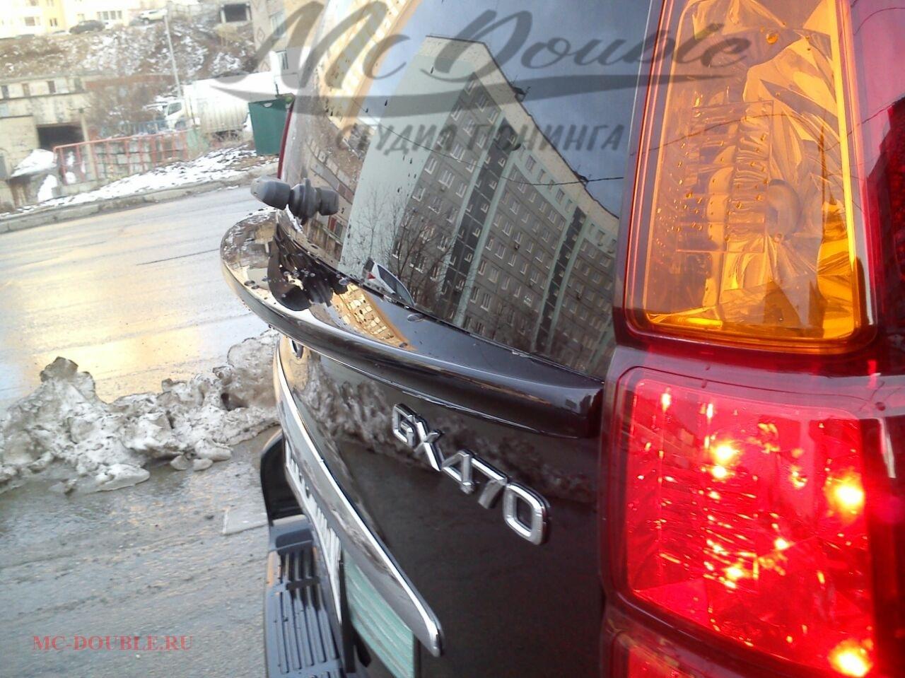Спойлер багажника GX 470