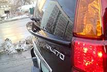 Спойлер багажника GX 470 купить