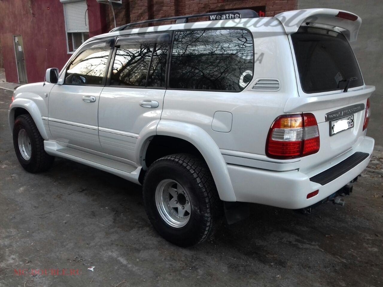 Спойлер багажника LX 470
