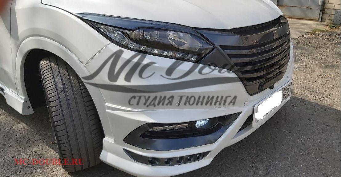 Передний спойлер Mzpeed Honda Vezel