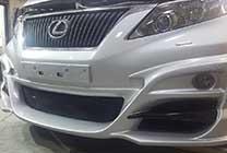Передняя губа WALD RX
