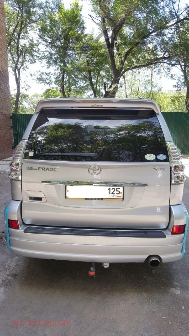 Спойлер на багажник Prado 120