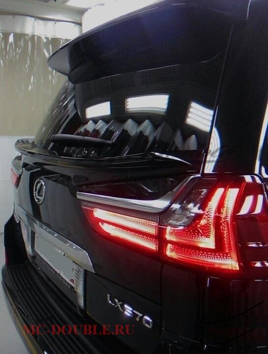 Спойлер багажника для LX 570 2016+