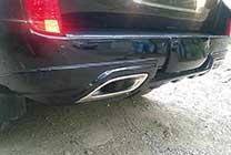 Задняя губа Goldman LX 570