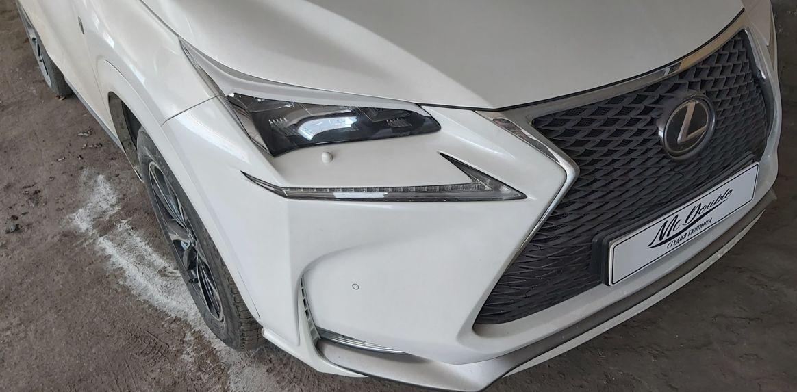 Накладки на фары Lexus NX