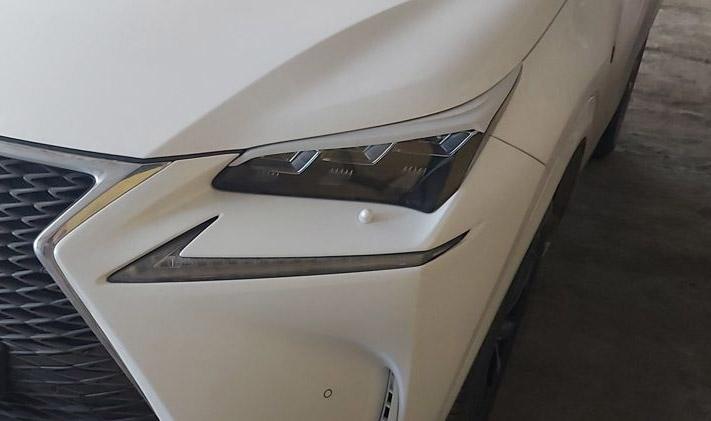 Ресницы на фары Lexus NX