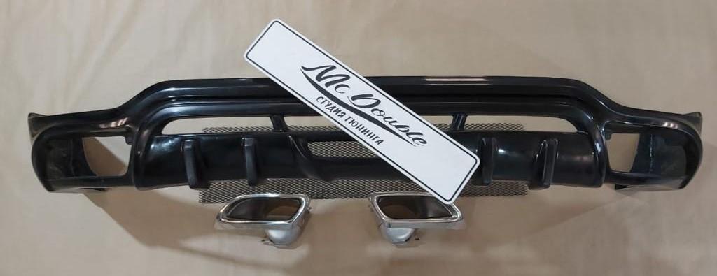Накладка на задний бампер Tommy Kaira для Lexus RX / Toyota Harrier